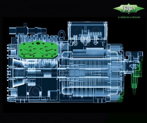 compresor el corazón del sistema de refrigeración